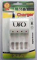 Зарядний пристрій AA/AAA UFO KN-8003 White (KN-8003)