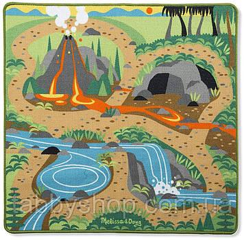 Игровой коврик Melissa&Doug с динозаврами