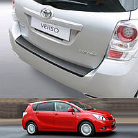 Toyota Verso 2009-2013 (not S) пластиковая накладка заднего бампера, фото 1