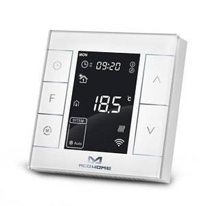MCOEMH7H-WH2, Z-Wave, термостат водяного опалення MCO Home з датчиком вологості, настінний