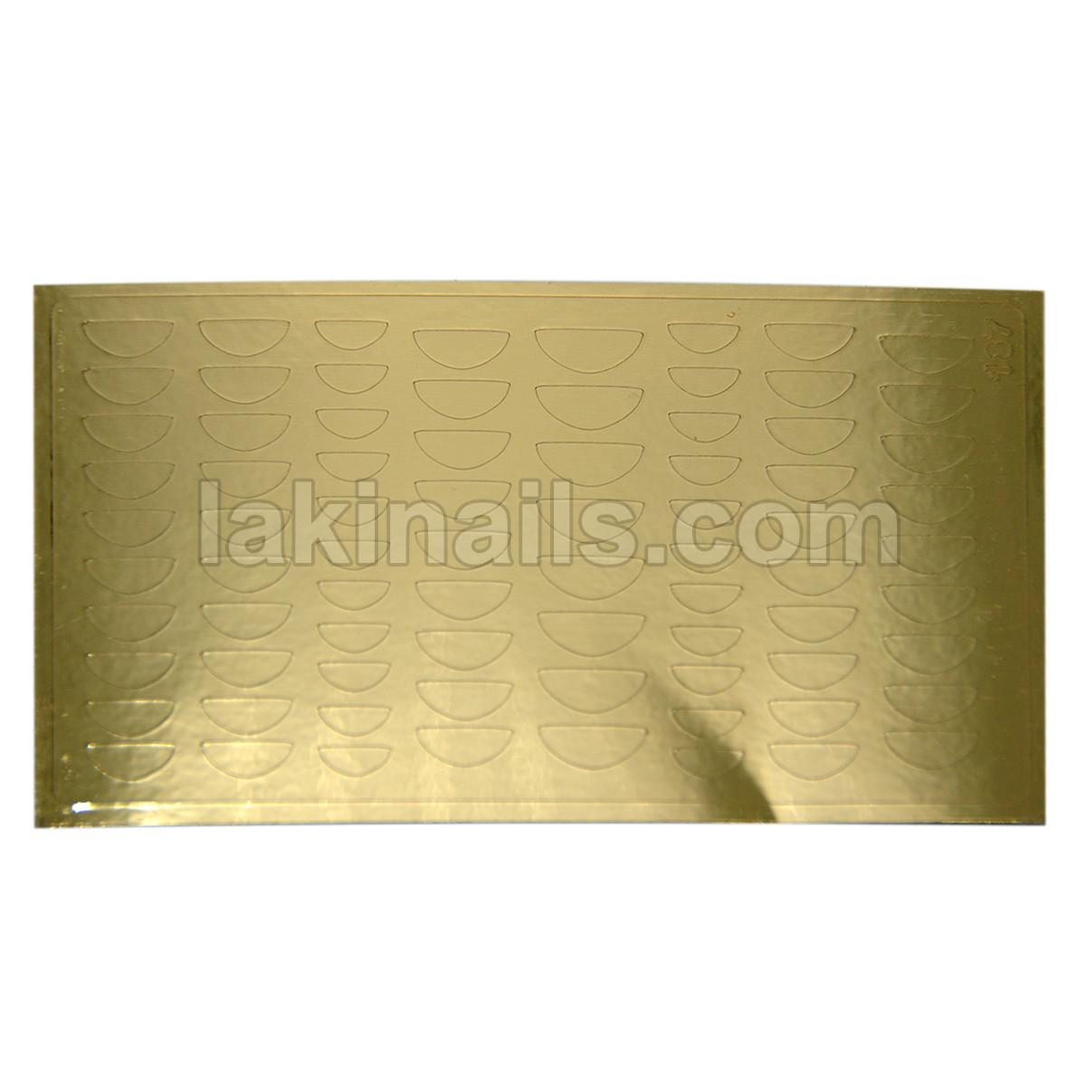 Металлизированные наклейки, золото, 187G