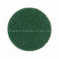 Скотч-брайт диск на липучке 100 мм P240 (зеленый) 94740
