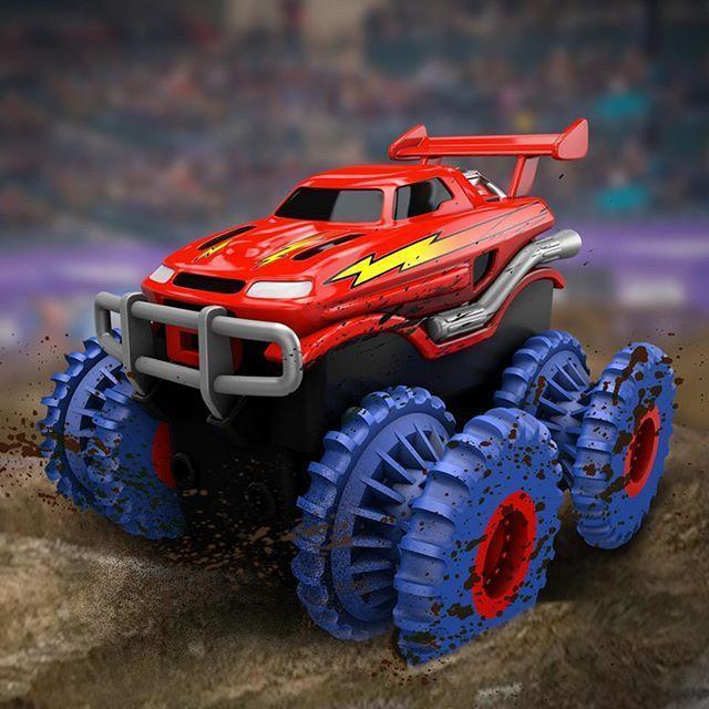 Набор Trix Trux машинка Трикс Тракс реплика машинка монстр траки вездеход авто трек подарок для ребёнка