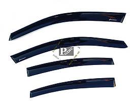 """Дефлекторы окон """"DF"""" VW Passat B5 Sd 1997-2001-2005 (на скотче) - Ветровики Фольксваген Пассат Б5"""