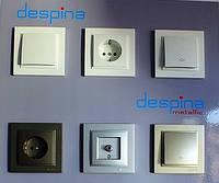 DESPINA (MONO ELECTRIC, Турция) - выключатели и розетки, фото 1