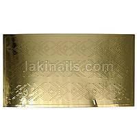 Металлизированные наклейки, золото, 201G
