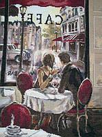 Завтрак в Париже   Набор для вышивки крестом 14ст