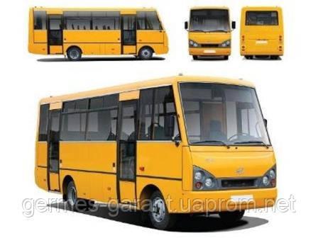 Двері та комплектуючі дверного механізму для автобусів I-VAN