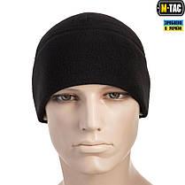 M-Tac шапка Watch Cap Elite флис (340г/м2) Black, фото 2