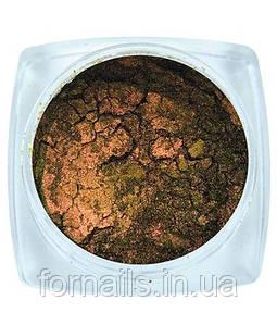 Komilfo втирка Жук №002 (зелено-розово-золотой), 0,5 г