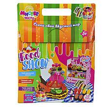 Творчество и рукоделие «Strateg» (71212) Набор для творчества Мистер тесто - Food show, 28 элем.