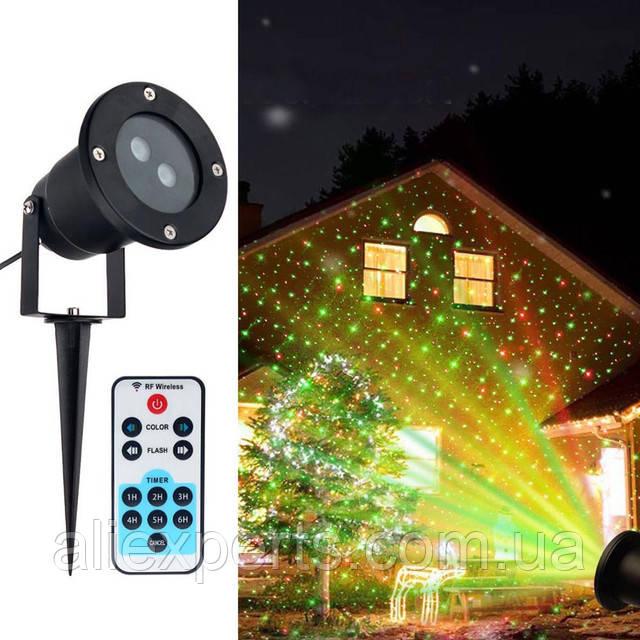 Лазерный Проектор Holiday Laser Light с