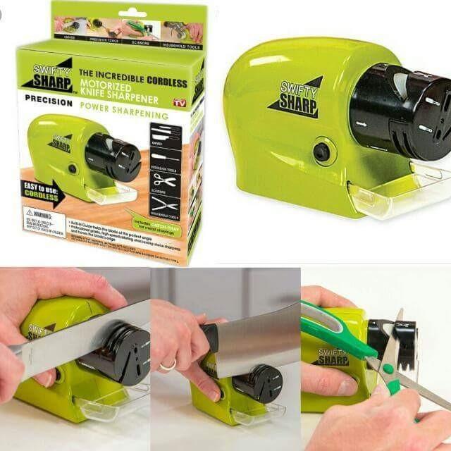 Беспроводная точилка для ножей и ножниц Swifty Sharp