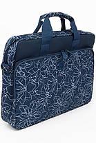 """Сумка для ноутбука Continent CC-032 Blue prints (15""""-15.6""""), фото 2"""