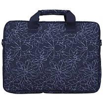 """Сумка для ноутбука Continent CC-032 Blue prints (15""""-15.6""""), фото 3"""