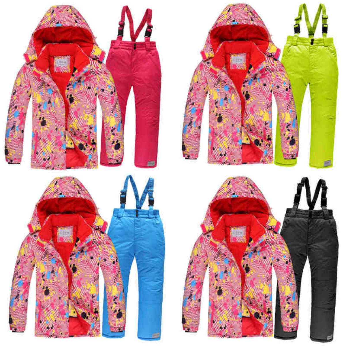 Лыжный костюм для взрослых #4 - 4 варианта