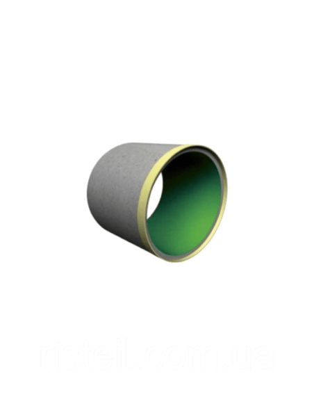 Тонкостенная бетонная труба-оболочка футерованная, ТС 240.20.1П (з мет. обечайкой)