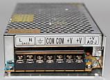 Блок живлення 12V 20A, металевий корпус, фото 6