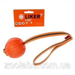 Мячик лайкер для собак на ленте