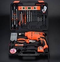 Мультифункциональный набор инструментов для монтажа с дрелью, 36 пр. Harden Tools 510836, фото 1
