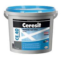 Ceresit CE 40 Trend Collection 2 кг Эластичный водостойкий цветной шов до 6 мм платиновый 39