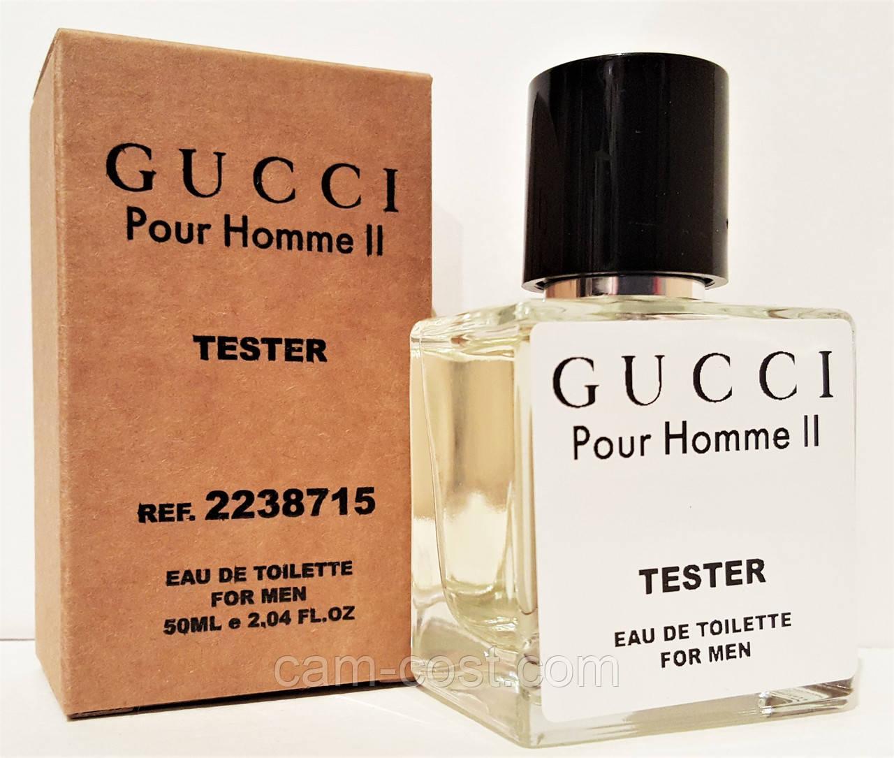Туалетна вода в тестері GUCCI Pour Homme II 50 мл