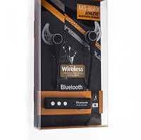 Bluetooth стерео гарнитура MS-808G черный