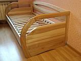 Деревянная кровать Бавария с ящиками, фото 8