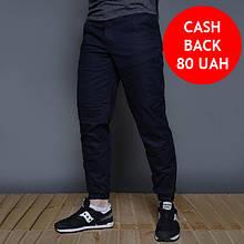 Теплые мужские штаны на флисе темно-синие бренд ТУР модель Тор (Thor) размер S, M, L, XL, XXL
