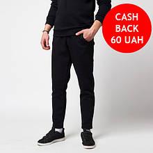Теплые мужские штаны  чёрные от бренда ТУР модель Сайракс (Cyrax) размер XS, S, M, L, XL, XXL