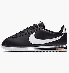 Женские кроссовки Nike WMNS Classic Cortez Leather Black 807471-010