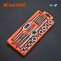 Профессиональный набор метчиков и плашек 20 пр. Harden Tools 610458, фото 1