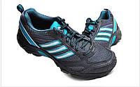 Кроссовки женские adidas Trainer W G13736 (темно-серые, для бега, текстильный верх, весна/лето, бренд адидас), фото 1