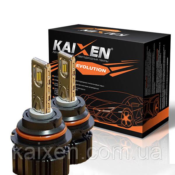 Светодиодные лампы 9004 (HB1) bi-led 6000K KAIXEN EVOLUTION 50W
