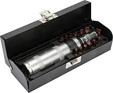 Ударно поворотная отвертка с битами Yato YT-28015, фото 2