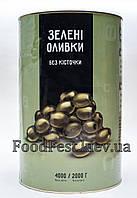 Оливки б/к 4,000/2000гр