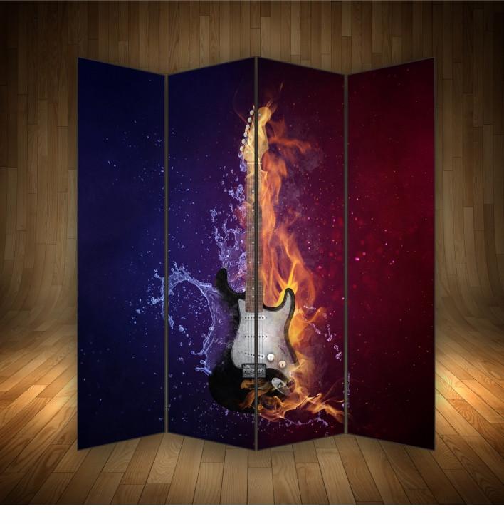 """Ширма декоративна """" Гітара """""""