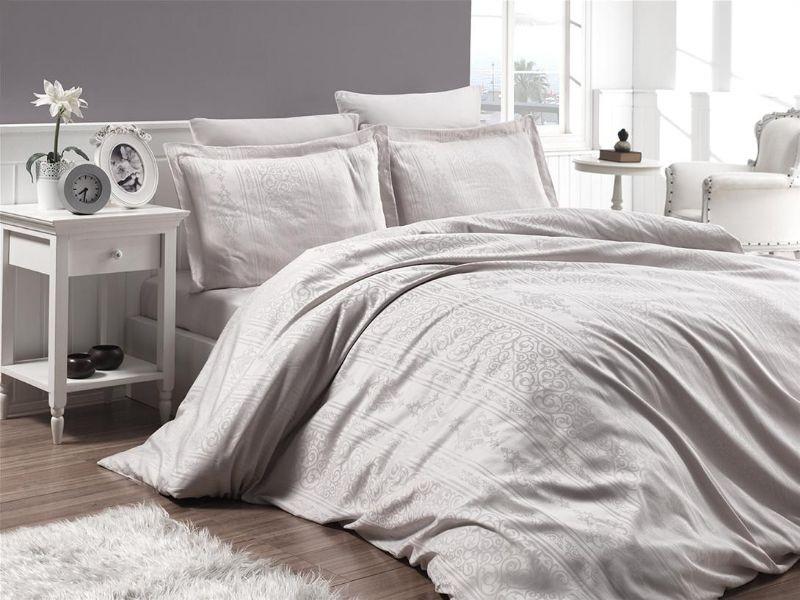 Комплект постельного белья First Choice Сатин Жаккард 200х220 Fiona Tas