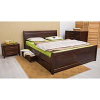 Ліжко СІТІ з філенкою та ящиками О, фото 1