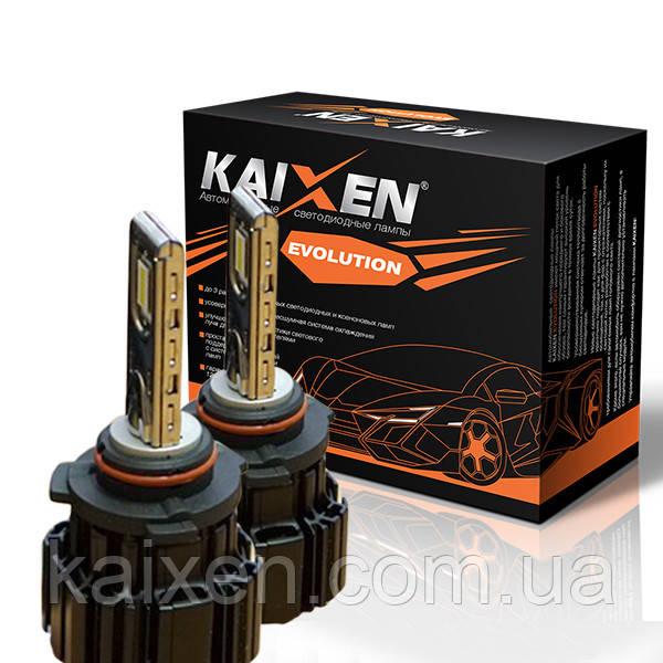 Светодиодные лампы 9005 (HB3) 6000K KAIXEN EVOLUTION 50W