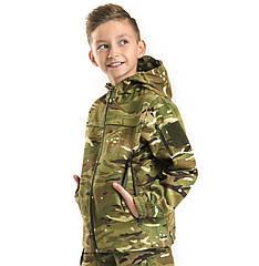 Детская куртка Скаут камуфляж MTP