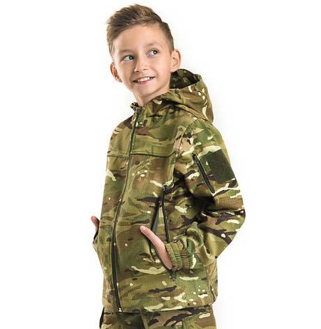 Детская куртка Скаут камуфляж MTP, фото 2