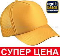 Кепка Тракер Унисекс Цвет Золотисто-жёлтый MB070-GYE