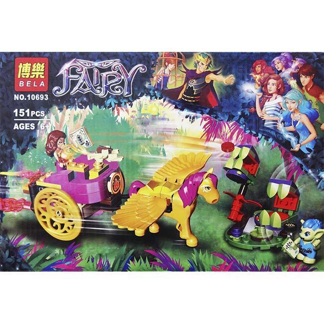"Конструктор Bela Fairy 10693 (аналог Lego Elves 41186) ""Побег Азари из леса гоблинов"" 151 дет."