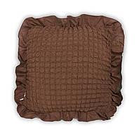 Подушка с чехлом / какао (5)
