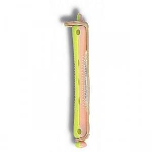 Бигуди для холодной завивки длинные 2-хцв(9мм) SPL 12 шт/упк 905113