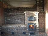 Кирпич ручной формовки под старину Таврический темный, фото 5