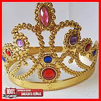 Карнавальная корона (золотая)