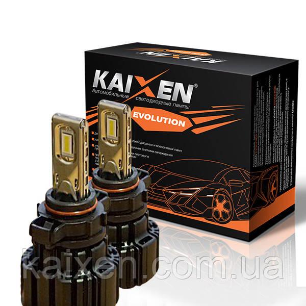 Светодиодные лампы H16 (5202) 6000K KAIXEN EVOLUTION 50W