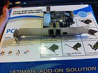 Контроллер PCI Express PCI-E FireWire 1394 IEEE 1394 чип via